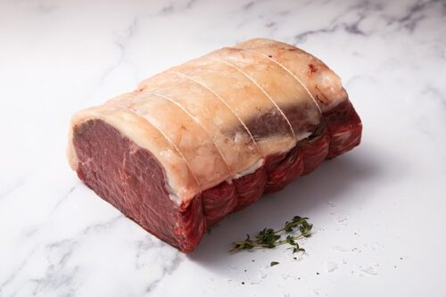 21 Day Matured Scotch Beef Sirloin Joint (3kg) - 01