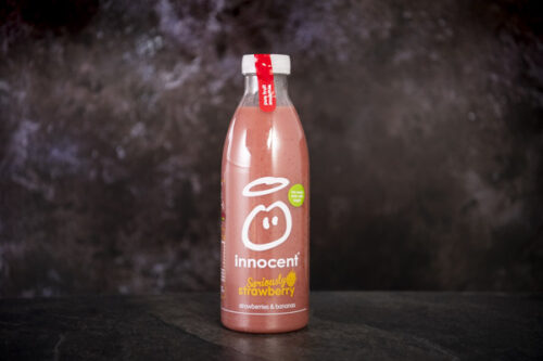 Innocent Strawberry and Banana Smoothie (750ml) - 01