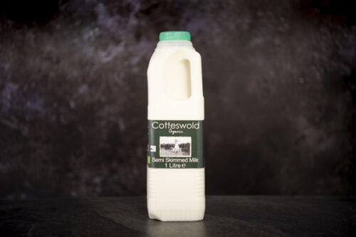 Fresh Organic Semi Skimmed Milk (1l) - 01