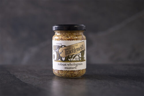 Tracklements Robust Wholegrain Mustard (140g) - 01