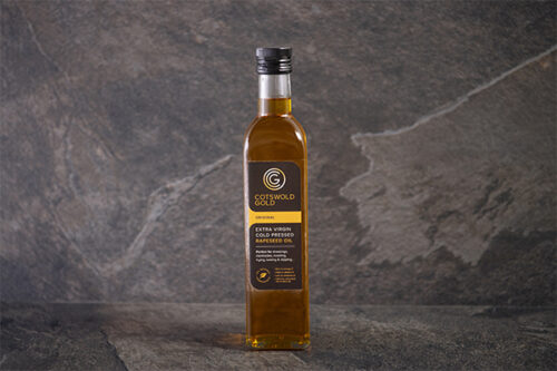 Extra Virgin Cold Pressed Rapeseed Oil (500ml) - 01