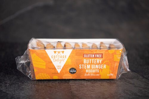 Stem Ginger and Oat Biscuits (Gluten Free, 240g) - 01