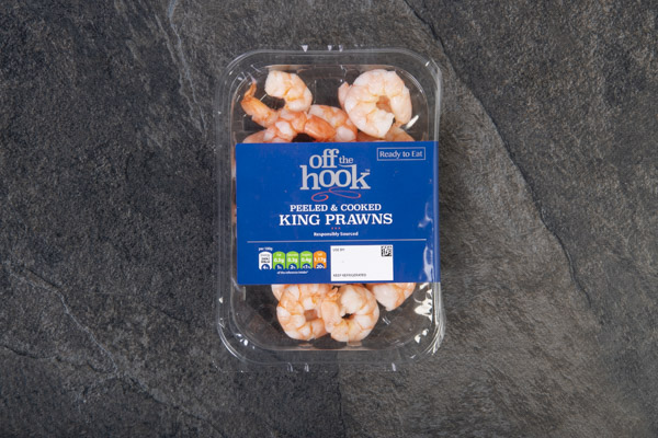 Peeled and Cooked King Prawns (150g) - 02