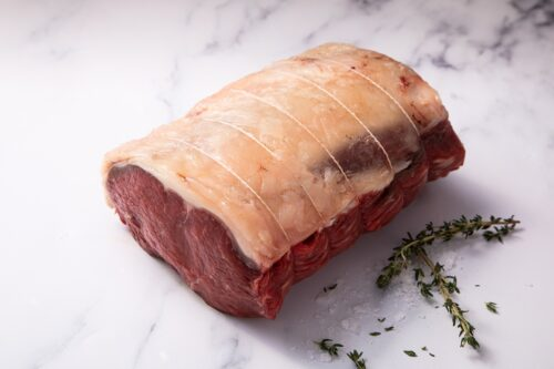21 Day Matured Scotch Beef Sirloin Joint with Red Wine Jus (1.4kg) - 01