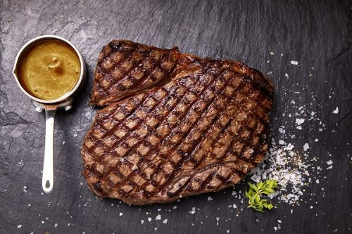 2 Rump Steaks with Peppercorn Sauce 564g - JW Galloway - 44 Foods - 01