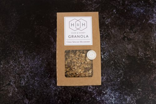 Gluten Free Chai Spiced Mulberry Granola 450g - Husk and Honey - 44 Foods - 01