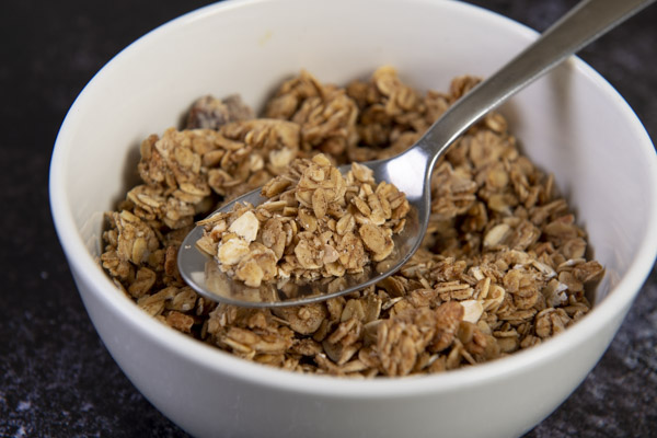Gluten Free Chai Spiced Mulberry Granola 450g - Husk and Honey - 44 Foods - 02