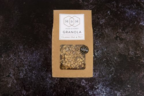 Gluten Free Oat and Nut Granola 1kg - Husk and Honey - 44 Foods - 01
