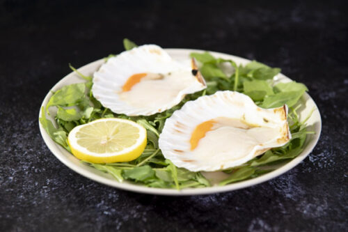 Half Shell Scallops with Roe 2 - Stevenson's - 44 Foods - 03