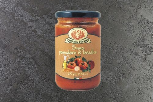 Tomato Sauce with Basil 270g - Rustichella - 44 Foods - 01