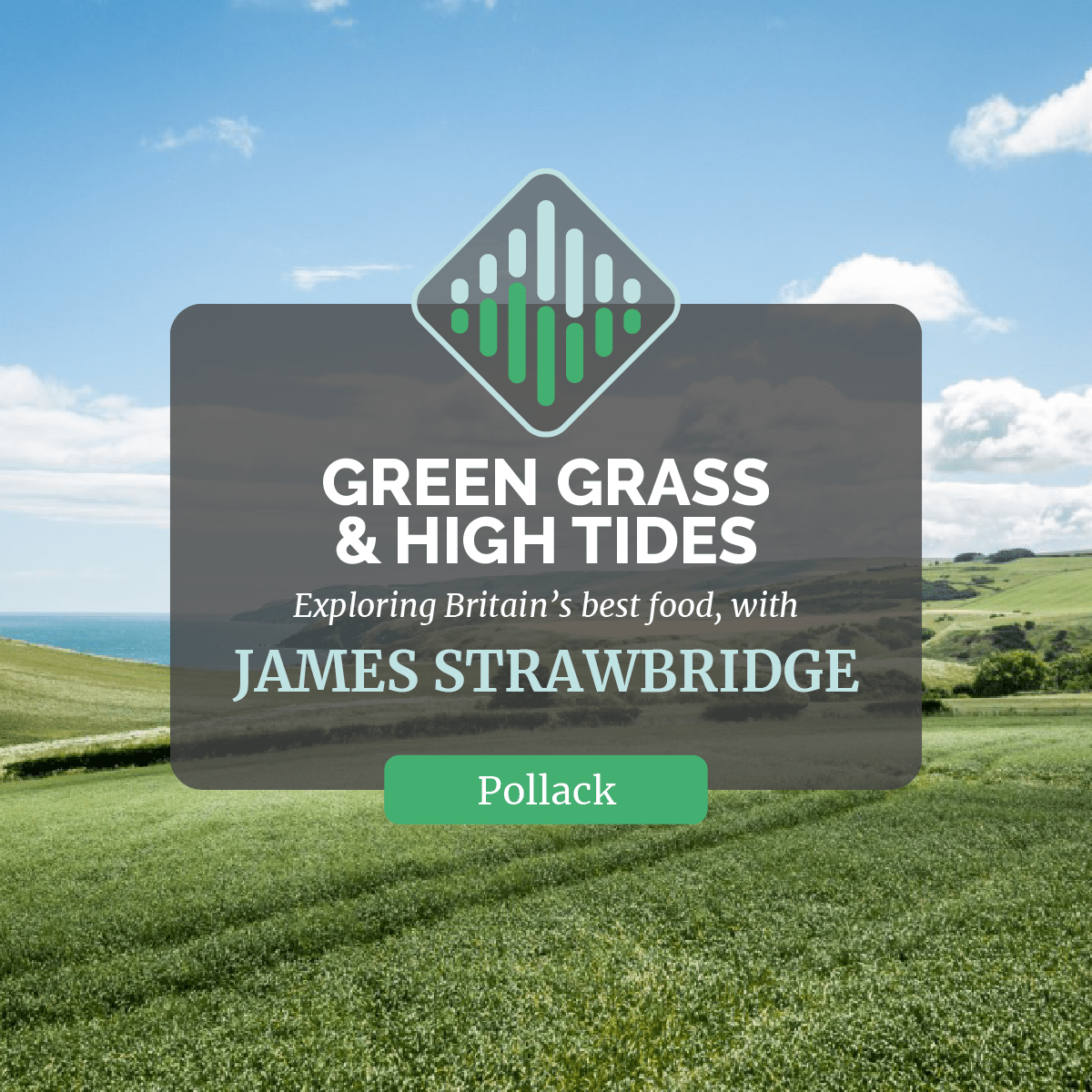 Green Grass and High Tides Podcast Cover Image Monk